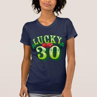 (Camiseta afortunada 30 de la reina de Cootie) Tee Shirt