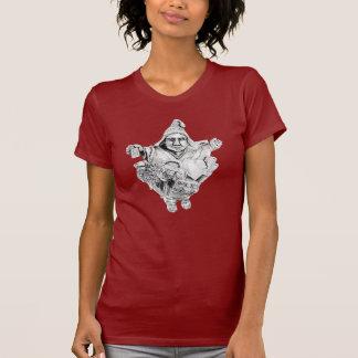 Camiseta afortunada de las señoras de Ekeko del Remera