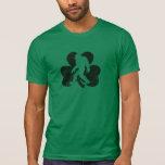 Camiseta afortunada de Sasquatch (apenada)