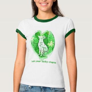 Camiseta afortunada del día del St. Patricks del Poleras