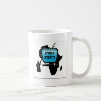 Camiseta africana de la música y etc taza clásica