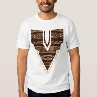 Camiseta africana de las ilustraciones polera