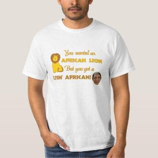 Camiseta africana de Lyin