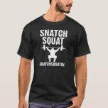 Camiseta agazapada de Snatchsquatch del