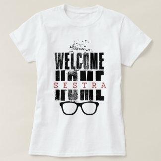 Camiseta agradable huérfana del diseño del negro remera