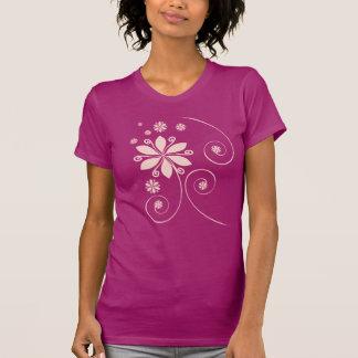 camiseta agradable lisa para las señoras