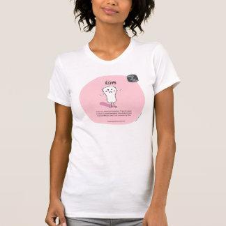 Camiseta agridulce del Puss de SSPG09-iLove