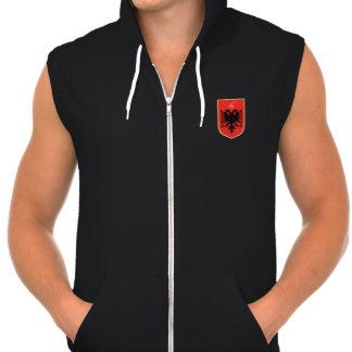 Camiseta albanesa del escudo de armas
