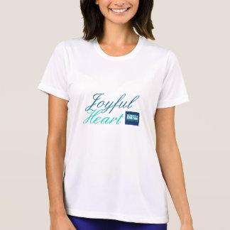 Camiseta alegre del Fearlessness del corazón Playera