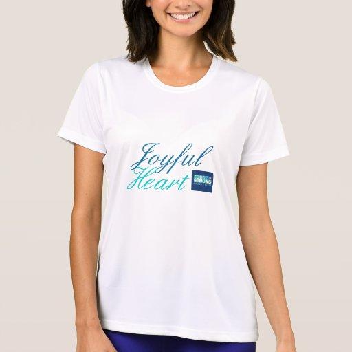 Camiseta alegre del Fearlessness del corazón Remera