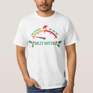 Camiseta alegre del metro del navidad del embaucam playeras