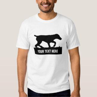 Camiseta alemana adaptable del indicador de pelo remeras