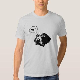 Camiseta alemana de los cerebros del indicador de remeras