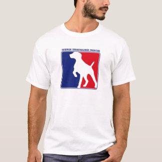 Camiseta alemana del indicador de pelo corto de la