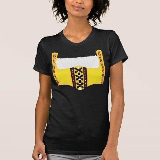 Camiseta alemana del traje del corsé de Oktoberfes