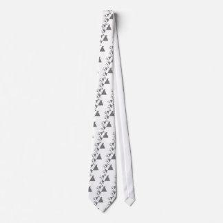 Camiseta algorítmico creada geométrica de Trnagle Corbata Personalizada