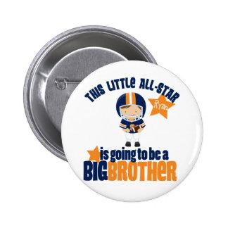 Camiseta All-star de hermano mayor del fútbol Pins