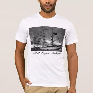 Camiseta alta portuguesa de la nave