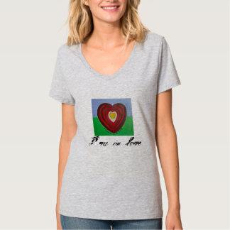 Camiseta alternativa de la Eco-Mezcla de la ropa