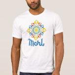 Camiseta alternativa del blanco de la ropa de los