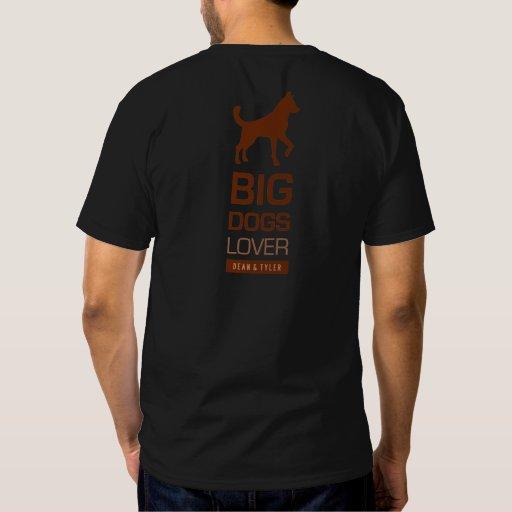 "Camiseta ""amante grande del perro "" remera"