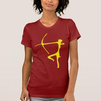 Camiseta amarilla de Archer Camisas