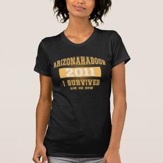Camiseta amarilla de Arizona Haboob 2011 Poleras