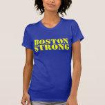 Camiseta amarilla de BOSTON y azul FUERTE de la pl