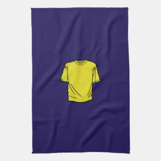 Camiseta amarilla de DIY Toallas De Mano