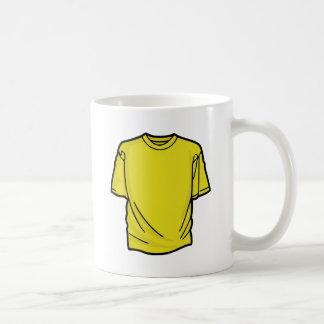 Camiseta amarilla de DIY Taza