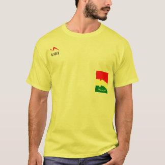 Camiseta amarilla de Jamaica Ital Rasta