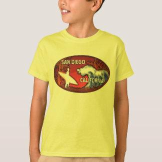 Camiseta amarilla del arte de la persona que poleras
