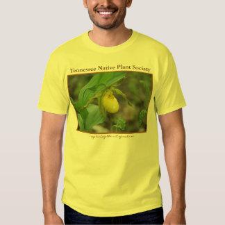 Camiseta amarilla del deslizador de señora playera