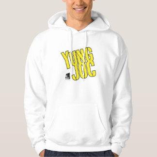 Camiseta amarilla del logotipo de Yung Joc