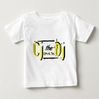 Camiseta amarilla del niño de CJ