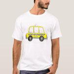 Camiseta amarilla del taxi de NYC