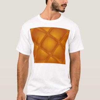 Camiseta ambarina que burbujea