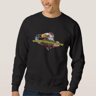 Camiseta americana 3XL del negro de la radio de