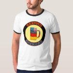 Camiseta americana alemana de Stein de la cerveza Playeras