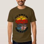 Camiseta americana alemana del fútbol playeras