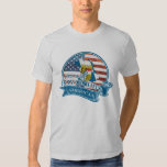 Camiseta americana bávara orgullosa camisas
