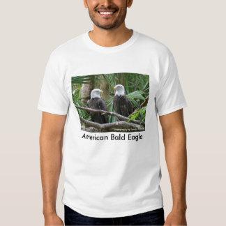 Camiseta americana de Eagle calvo Playera