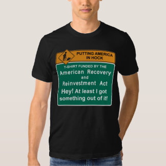 Camiseta americana de la recuperación - Barack Playera