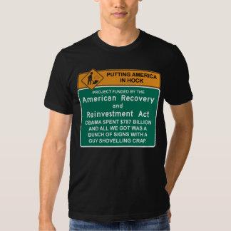 Camiseta americana de la recuperación - Barack Remera