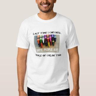 Camiseta americana de la unidad poleras