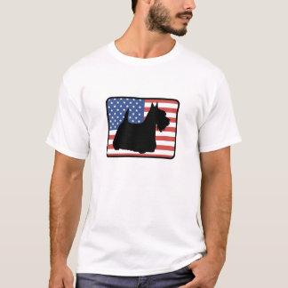 Camiseta americana de Terrier del escocés