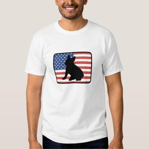 Camiseta americana del dogo francés remeras
