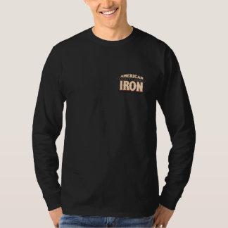 Camiseta americana del HIERRO Poleras