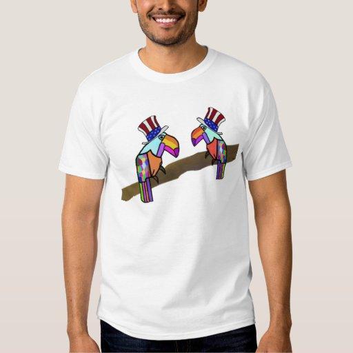 Camiseta americana del orgullo playera
