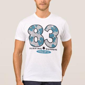 Camiseta americana del Polivinílico-Algodón de los